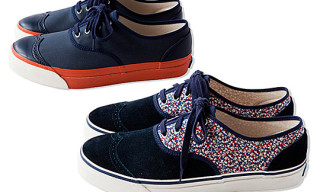 CASH CA x Keds Liberty & British Millerain Sneakers