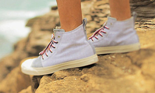 Converse for Aloha Rag Jack Purcell Zipper Hi