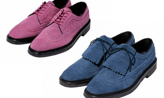Regal x Phenomenon Suede Wing Tips