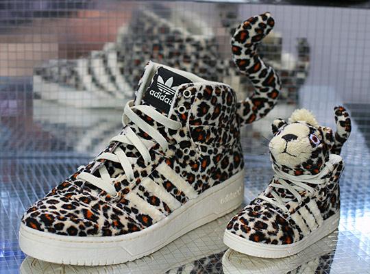 Jeremy Scott Adidas Leopard
