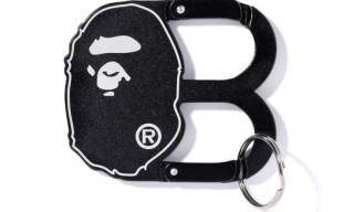 Bape 'Ape Head B' Carabiner