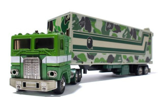 Bape x Transformers ABC Convoy