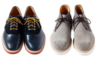 CASH CA x Tricker's Footwear for Fall/Winter 2011