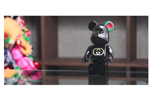 Gucci 90th Anniversary Bearbrick 400 Highsnobiety