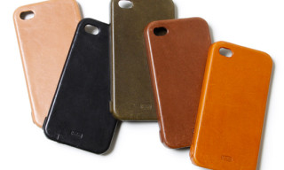 hobo Full Grain Leather iPhone 4 Case