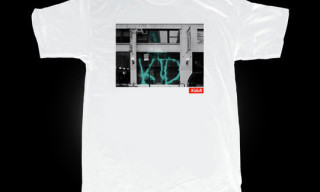 Kidult 'Supreme Vandalized Store Front' T-Shirt