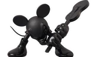 Medicom x Roen 'Mickey Mouse Guitar Tone-in-Tone' Version