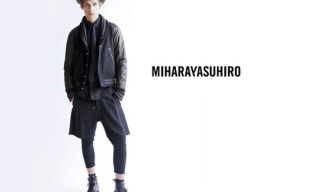 MIHARAYASUHIRO For Black Sense Market Capsule Collection
