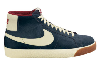 Nike SB Blazer High Charcoal/Halo-Team Red
