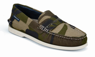 Sperry Top-Sider x Penfield Camouflage Boat Shoe