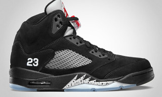 Air Jordan 5 Retro Black/Varsity Red – Metallic Silver