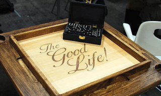 TheGoodLife! x GoodWood Domino Table