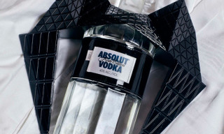 ABSOLUT Vodka x Gareth Pugh 'Absolut Mode' Edition Bottle