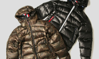 Beams Lights Ripstop Camo Tricolor Down Jacket