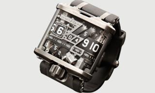 Devon 'Tread 1' Time Belt Watch