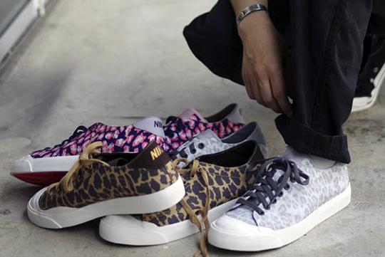 newest collection ff901 35a88 80%OFF fragment design x Nike Zoom All Court 2 Low LeopardPack Highsnobiety