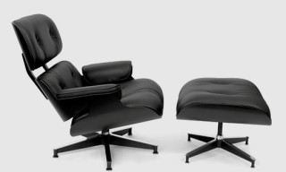 "Herman Miller ""Eames Lounge Chair & Ottoman"" – Limited 'All Black' Asia Edition"
