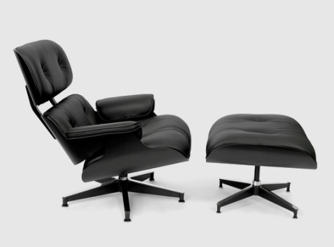 herman miller lounge chair. Herman Miller Releases A Limited Edition Version Of The Iconic Eames Lounge Chair And Ottoman In Asia. All Black Edition, Featuring Plywood