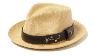 Victim x HTC Straw Hat by New York Hat Co.