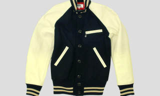 eYe Junya Watanabe Comme des Garcons MAN x Johnson Leathers Varsity Jacket
