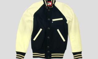 eYe Junya Watanabe Comme des Garcons MAN x Johnson Leathers Varsity Jacket