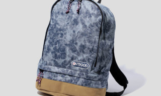Swagger x Outdoor Washed Denim Tear Drop Backpack