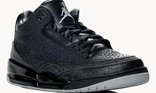 Air Jordan III 'Black Flips'