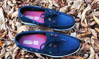 Cool Cats for Sebago Black Remix Docksides