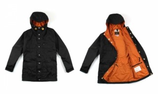 DQM x Crescent Down Works Waxed Montagne Parka