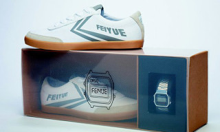Feiyue x Casio 'Silver & Gold' Box Sets