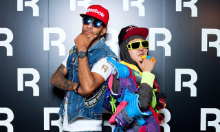 Reebok Reethym of Lite Launch Party Tokyo ft. Verbal and Swizz Beatz