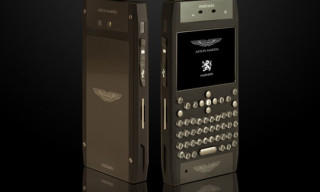 Aston Martin x Mobiado 'The Grand 350' Luxury Phone