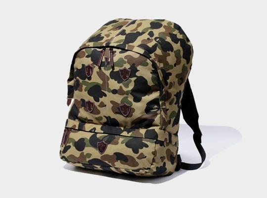 bape 1st camo mountain backpack