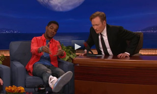 Video: Kid Cudi Shows Off Nike MAG Sneaker On Conan
