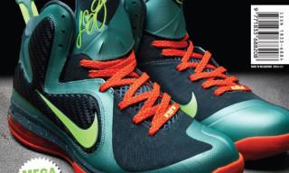 Sneaker Freaker Issue 22 – Nike LeBron 9 'Miami'