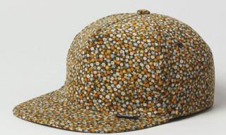 PAM Floral Corduroy Snapback Cap