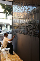Retna Paints Chanel Beverly Hills Flagship Store