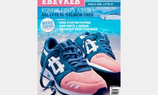 Sneaker Freaker Issue 22 – Ronnie Fieg x Asics Gel Lyte III 'Salmon Toe'