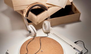 Sennheiser Ecovinyl Turntables and Headphones by Matthew Lim