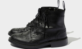 SOPHNET x Tricker's Wing Tip Boots