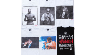 Stussy x Lafayette 'Jonathan Mannion Photography' T-Shirt Series