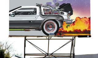 Undefeated 'Back For The Future' Billboard by Brent Rollins