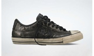 John Varvatos Converse Star Player EV Snakeskin Leather