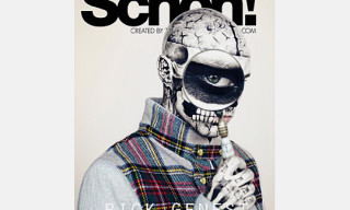 Rick Genest aka Zombie Boy for Schon Magazine Issue 14