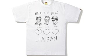 A Bathing Ape x Beastie Boys Japan Charity T-Shirt