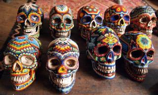 Beaded Skulls by Catherine Martin
