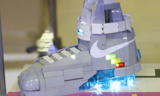 Orion Pax x Sneaker Freaker – The Lego Nike MAG