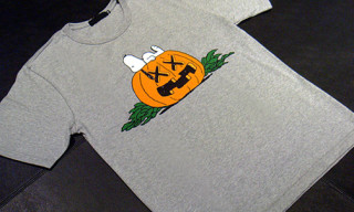 Original Fake x Peanuts Snoopy Halloween T-Shirt