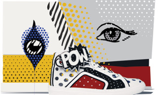Pierre Hardy 'POWORAMA' Limited Edition Sneakers
