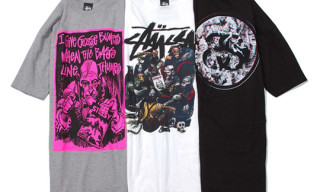 Stussy x Creepy T-Shirts